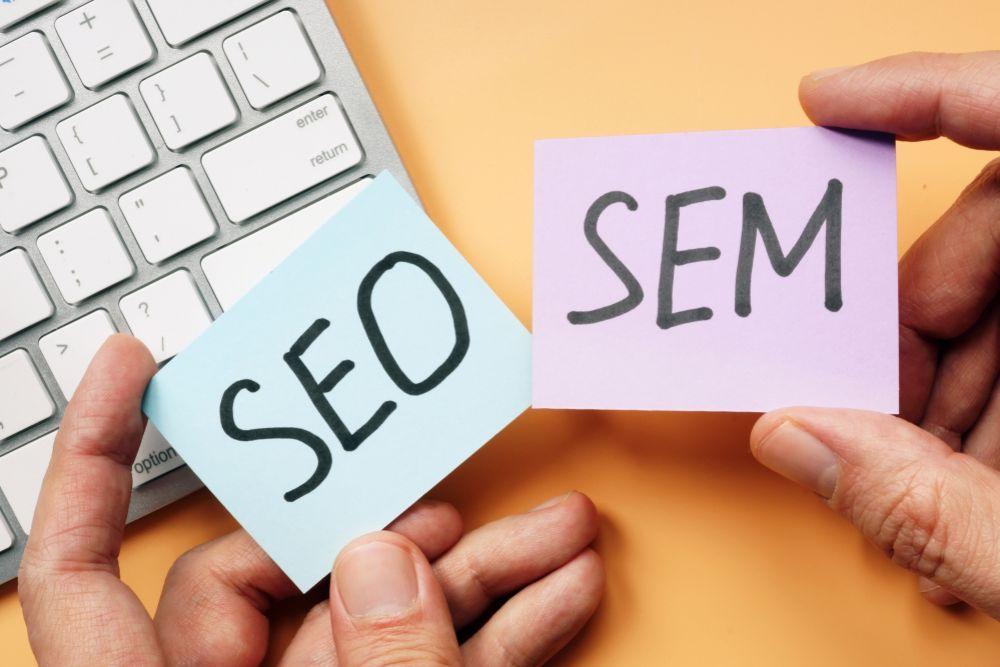 เทคนิคทางการตลาดที่เรียกว่า SEO และ SEM